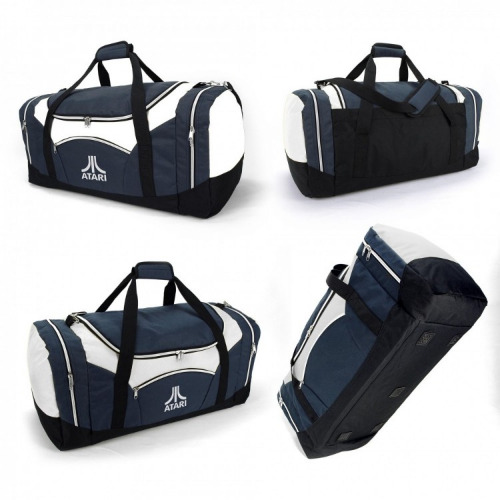 G1117 Stella sports travel bag navy, white grace collection