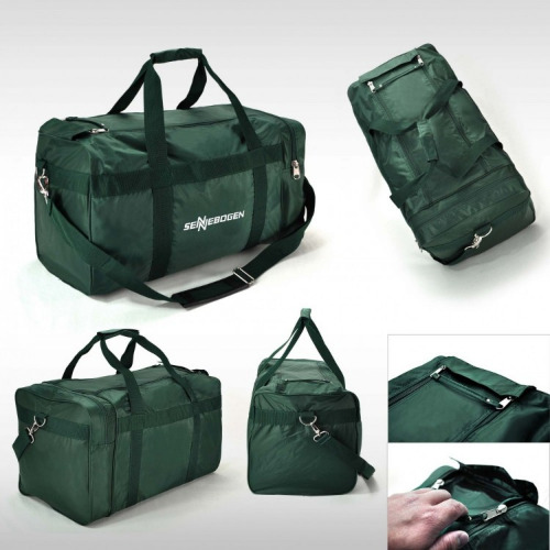 G1050 nylon sports travel bag bottle green, grace collection