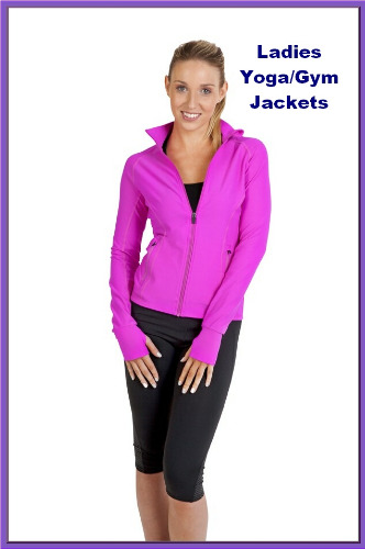 yoga gym jackets