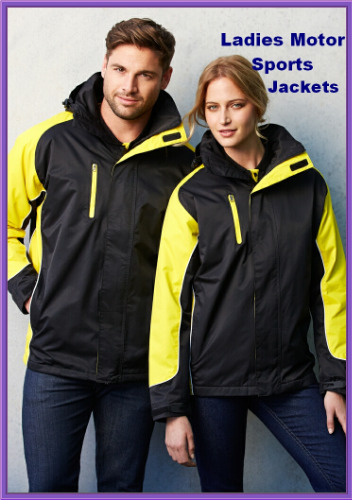 Ladies motor sport jackets