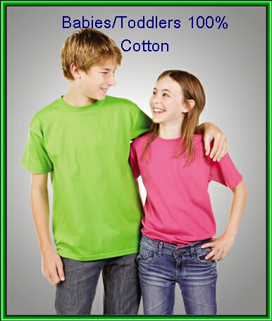 kids babies 100% cotton