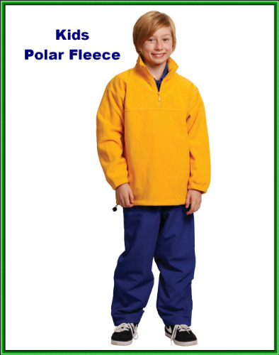 kids polar fleece jumper pullover