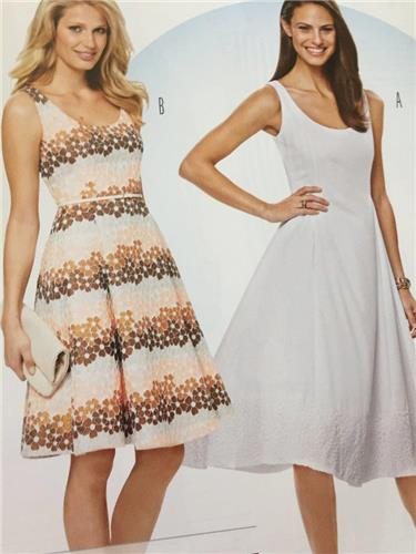 Burda Sewing Pattern 6758 Ladies Misses Dress Size 8-18 New ...